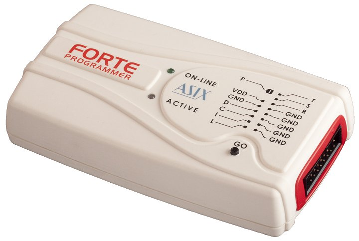 FORTE - ISP connector view